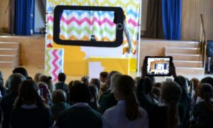 PenguinPig visit Brighton and Hove Prep School for an E-Safety Puppet Show