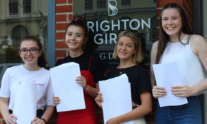 Brighton Girls Celebrate Outstanding A Level Results