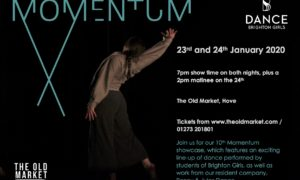 Book your ticket for Momentum at The Old Market