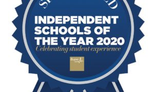 Shortlisted for the Independent Schools of the Year Awards