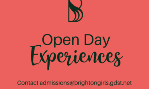 Register Now for our New Open Day Experiences