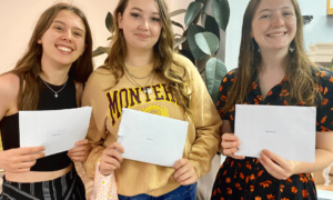 A Level Results – Celebrating great outcomes after a tough year
